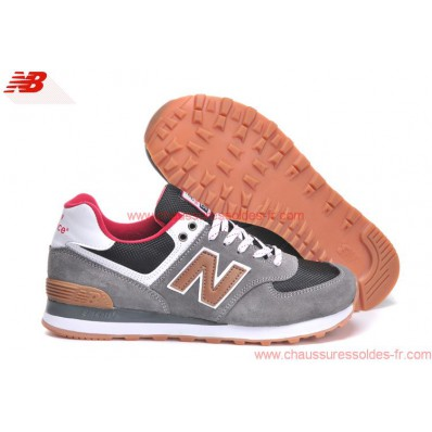 new balance grise solde