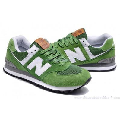 new balance homme grise et verte