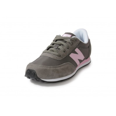 new balance kl410 junior grise et rose