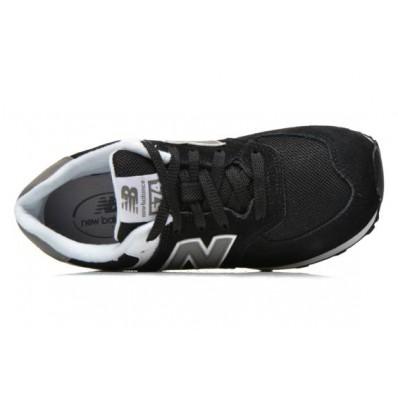 new balance kl574 j noir