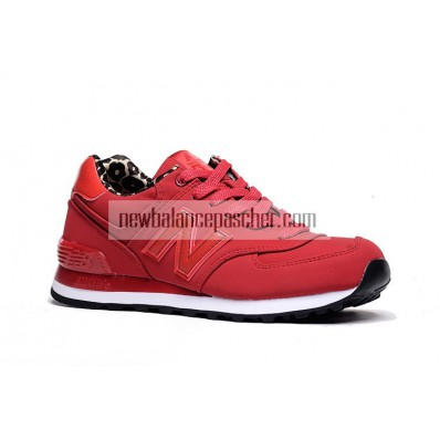 new balance leopard rouge