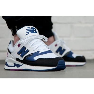 new balance m530bw blanc noir bleu