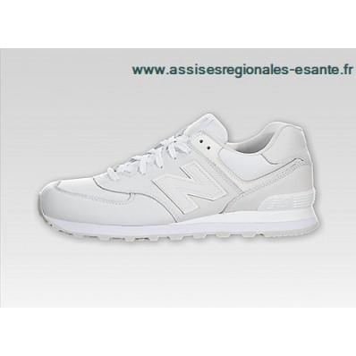 new balance ml574 blanc