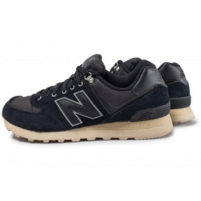 new balance ml574 noir et bleu