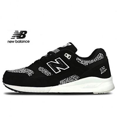 new balance noir blanc