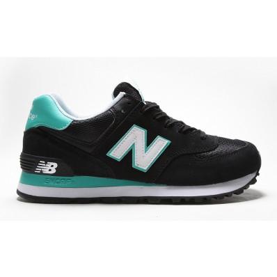 new balance noir et turquoise