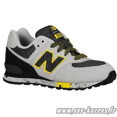 new balance noir gris jaune