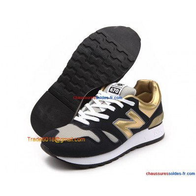 new balance noir or solde