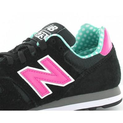 new balance noire rose verte