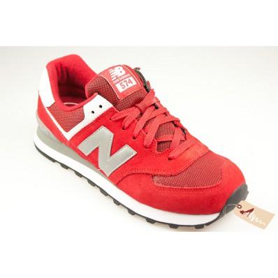 new balance rouge 574 femme