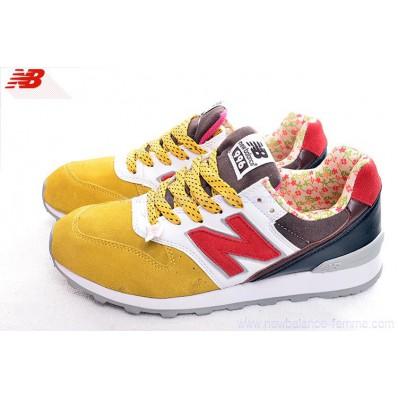 new balance rouge et jaune