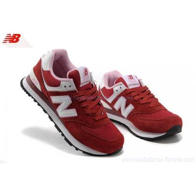 new balance rouge femme 574