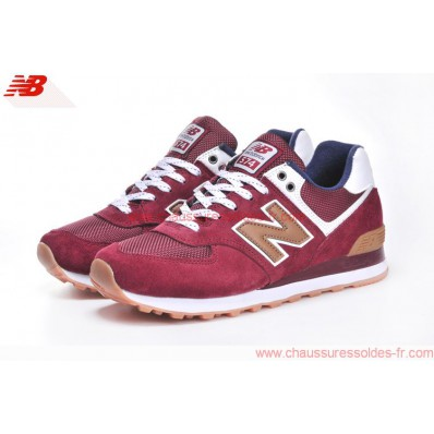new balance rouge vin