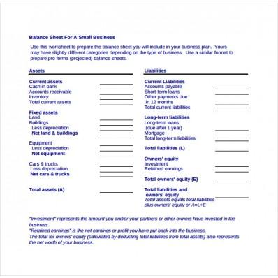 new balance sheet format pdf download
