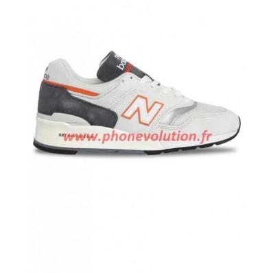 new balance sneakers 997 suede gris et noir