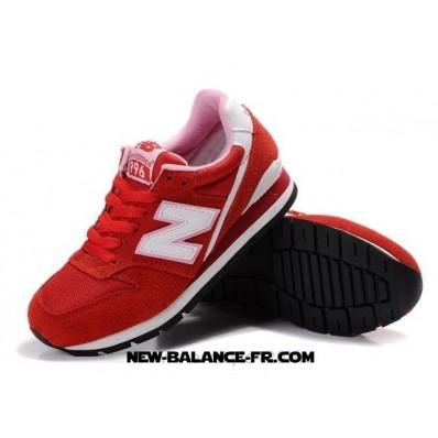 new balance toute rouge