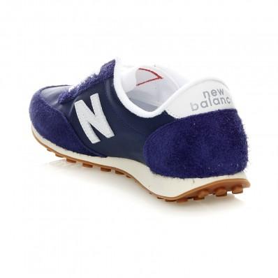 new balance u410 bleu blanc