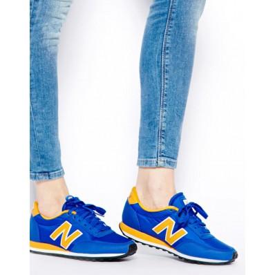 new balance u410 bleu marine jaune