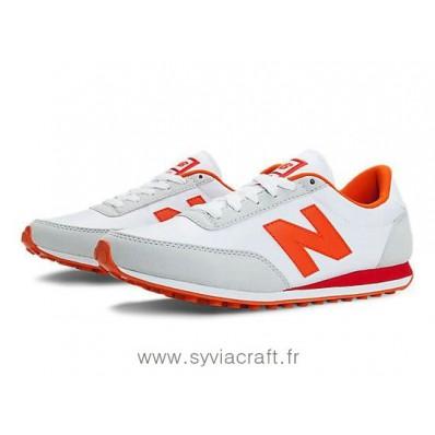 new balance u410 grise et orange