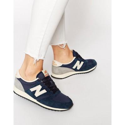 new balance u420 vintage bleu femme