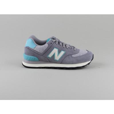 new balance wl574 gris bleu