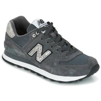 new balance wl574 gris noir