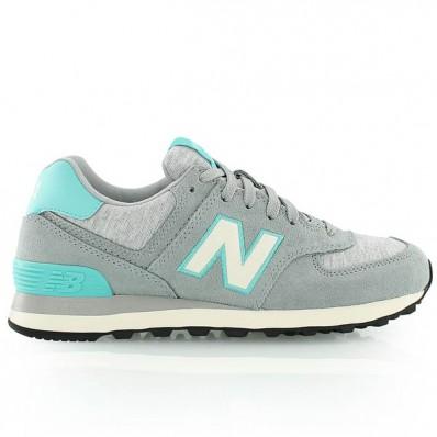 new balance wl574 gris turquoise