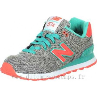 new balance wl574 w chaussures gris turquoise