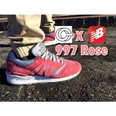 new balance x cncpts 997 rose