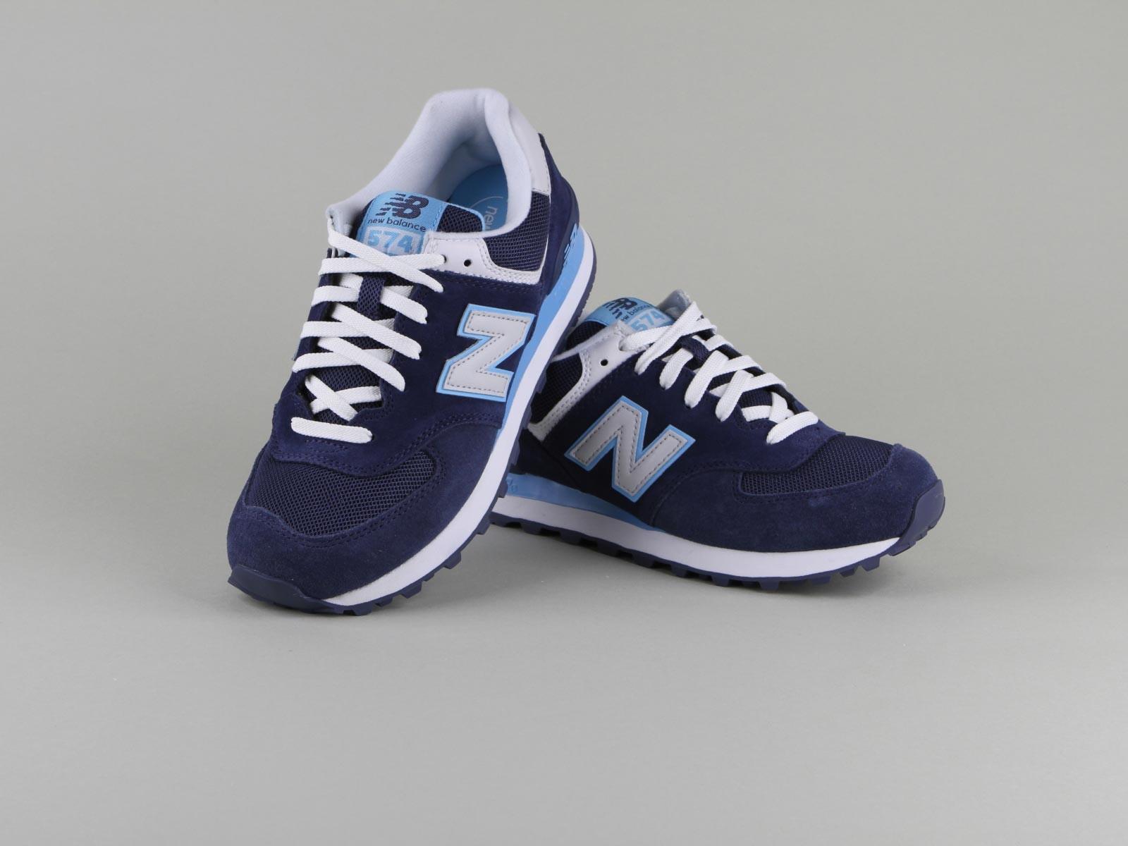 baskets new balance femme bleu