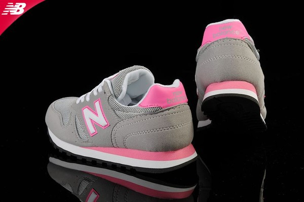 new balance 373 femme grise rose