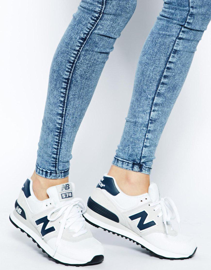 new balance femme bleu et blanc