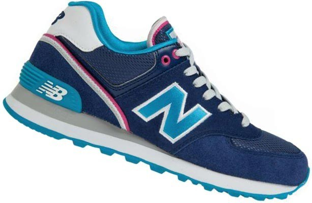 new balance 574 bleu rose