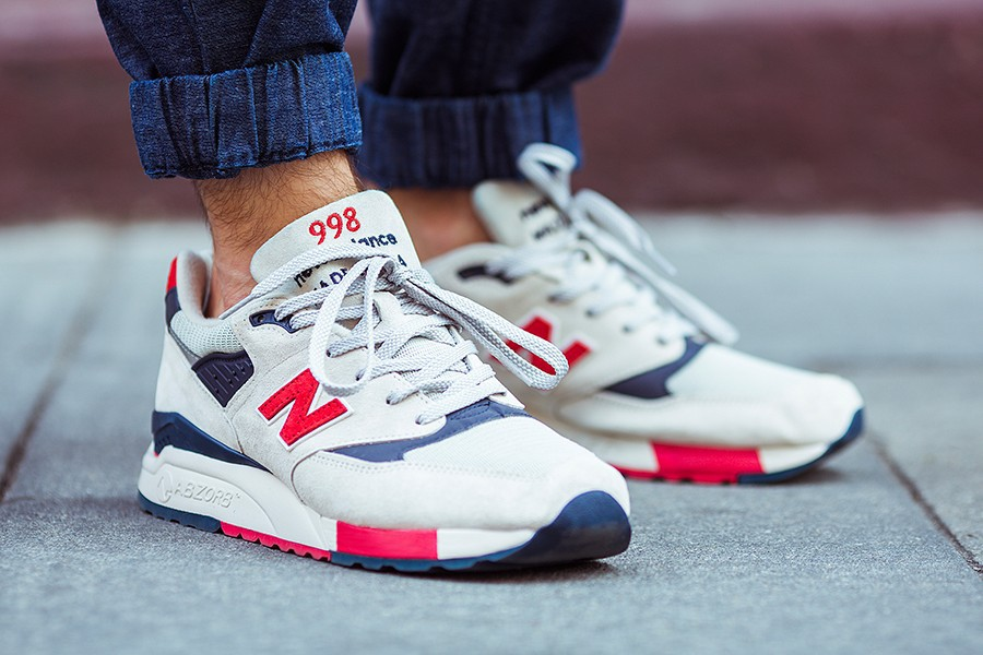 new balance bleu blan rouge