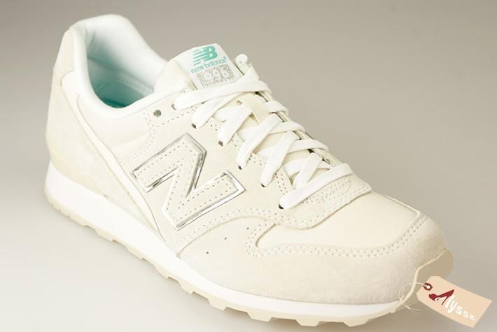 new balance blanche et beige