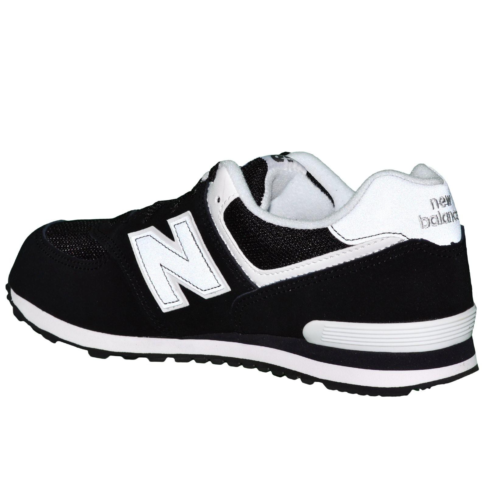 new balance blanc noir