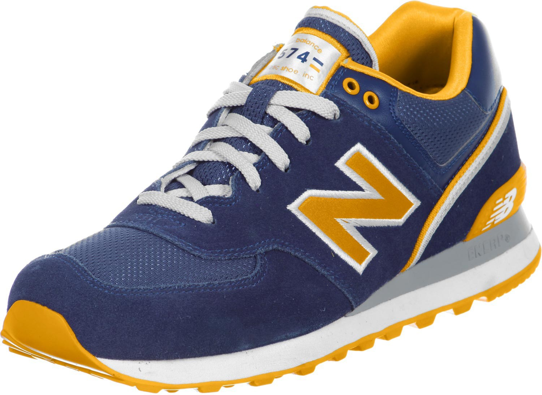 new balance homme bleu et jaune