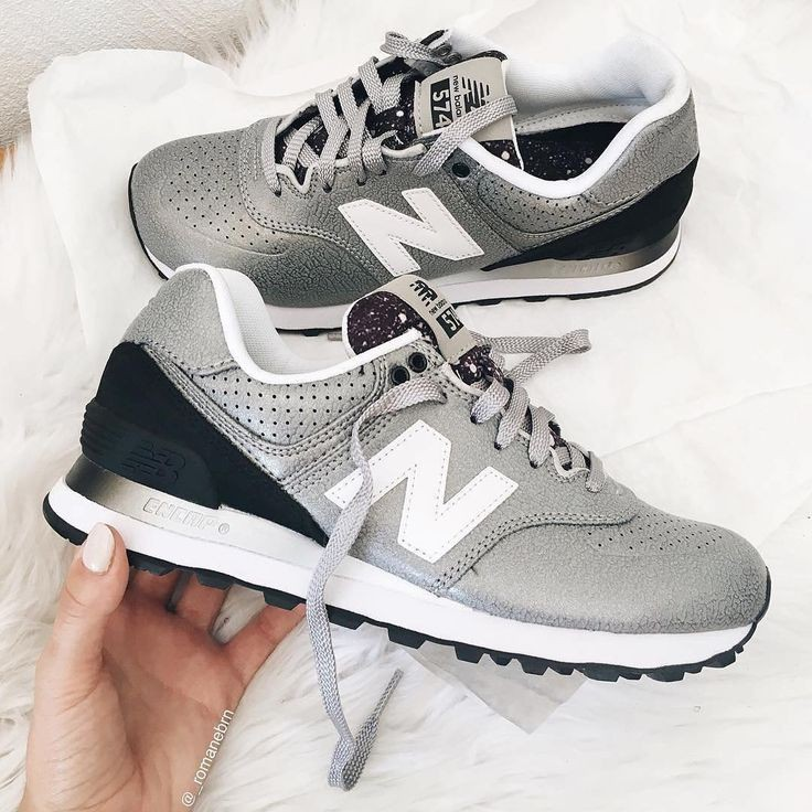 new balance gris pailleté