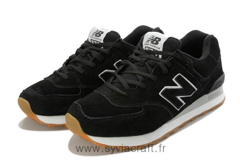 new balance noire homme