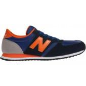 basket new balance bleu et orange