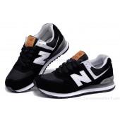 new balance 574 blanche et noir