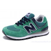 new balance 574 bleu et verte