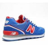 new balance 574 bleu rouge