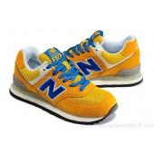 new balance ml574 bleu et jaune