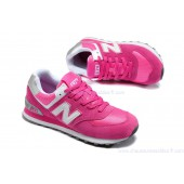 new balance rose et blanche