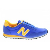 new balance u410 homme bleu et orange