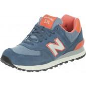 new balance wl574 blauw roze