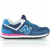 new balance wl574 rose et bleu