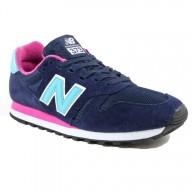 new balance 373 bleu marine et rose