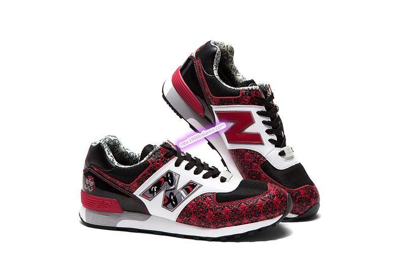 nouvelle arrivee 75d9c faad3 Rouge Beige New Balance Limitée Et Chaussures Edition Femme ...